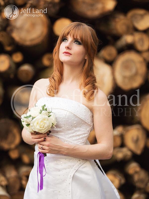 Model Portfolio Shoot at Oakley Woods, Leamington Spa