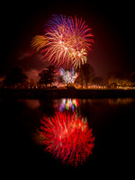Bidford-on-Avon Fireworks display 2016