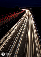 Light Trails M40 - Longbridge Island - Warwickshire