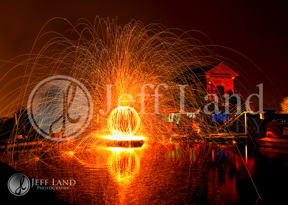 Light Painting - Hatton Locks - Nr Leamington Spa