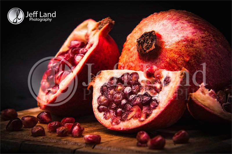 Pomegranate, Studio, Stratford-upon-Avon, Warwickshire, Fruit, Professional, Photographer, Photography, Still Life