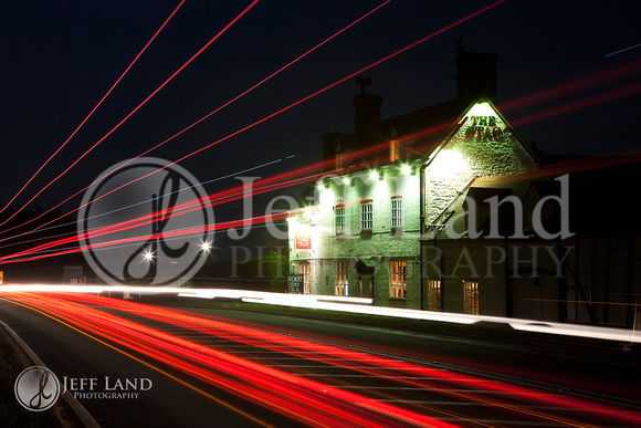 The Stag - Redhill Light Painting