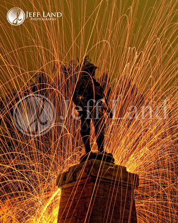 Evesham Light Painting