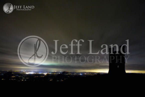 Broadway Tower, Nr Evesham - Light Painting