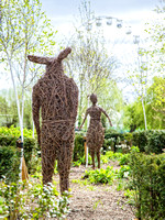 Wicker Rabbit - Bancroft Gardens - Stratford-upon-Avon