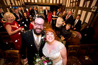 Lisa & Mick - Lord Leycester Hospital in Warwick.