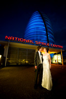Matt & Sarah get married at the National Space Centre in Leicester